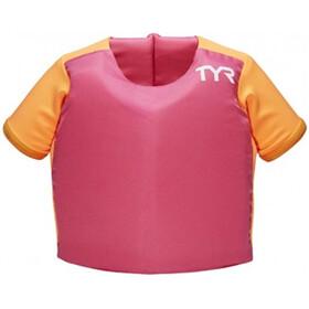 TYR Flotation Shirt Kinderen, roze/oranje